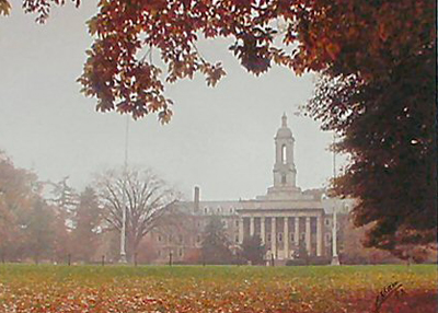 Old Main Fall 1993
